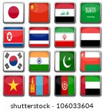 national flags | Shutterstock . vector #106033604