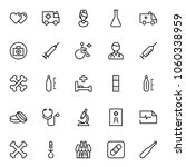 pharmacy icon set. collection... | Shutterstock .eps vector #1060338959