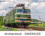 freight train with gas and...   Shutterstock . vector #106034120