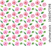 seamless floral background.... | Shutterstock . vector #1060347398