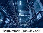 metallurgical production ... | Shutterstock . vector #1060357520