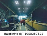metallurgical production ... | Shutterstock . vector #1060357526