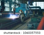 Small photo of metallurgical production, manufacturing premises, workshop at the plant, blast furnace, heavy industry, engineering, steelmaking