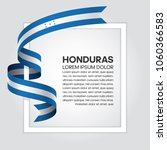 honduras flag background | Shutterstock .eps vector #1060366583