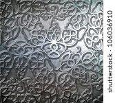 steel metal plate background | Shutterstock . vector #106036910