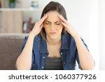 woman complaining suffering...   Shutterstock . vector #1060377926