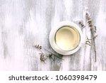 vitex agnus castus dried flower ... | Shutterstock . vector #1060398479