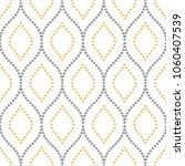 seamless vector ornament.... | Shutterstock .eps vector #1060407539