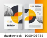 flyer brochure design template... | Shutterstock .eps vector #1060409786