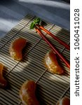 summery cookery. tangerine...   Shutterstock . vector #1060411028