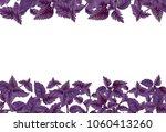 illustration of red basil in... | Shutterstock . vector #1060413260
