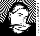 vector hand drawn illustration... | Shutterstock .eps vector #1060423514