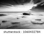 sunrise at a moody kingsbarns... | Shutterstock . vector #1060432784
