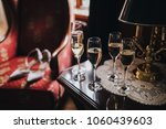 in the room on table there are... | Shutterstock . vector #1060439603