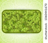 bunches of the green grapes... | Shutterstock .eps vector #1060441670