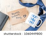 father's day gift concept ...   Shutterstock . vector #1060449800