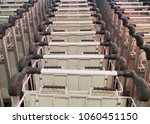 airport's trolley repetition | Shutterstock . vector #1060451150