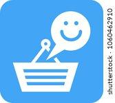happy customer icon | Shutterstock .eps vector #1060462910