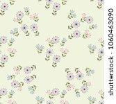 simple cute pattern in small... | Shutterstock .eps vector #1060463090