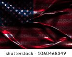 usa flag background | Shutterstock . vector #1060468349