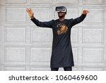 rich african man in stylish...   Shutterstock . vector #1060469600
