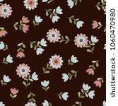 simple cute pattern in small... | Shutterstock .eps vector #1060470980