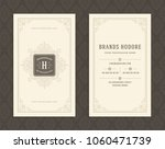 luxury business card and... | Shutterstock .eps vector #1060471739