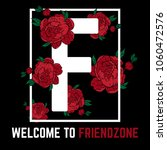 welcome to friendzone. vector... | Shutterstock .eps vector #1060472576