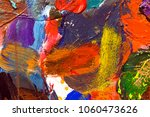 color painting texture | Shutterstock . vector #1060473626