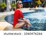 summer lifestyle fashion...   Shutterstock . vector #1060476266