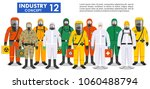 chemical industry concept.... | Shutterstock .eps vector #1060488794
