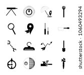 icon instruments and tools with ... | Shutterstock .eps vector #1060493294