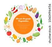 fresh organic vegetables  ...   Shutterstock .eps vector #1060496456
