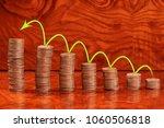 sorting of coins in ascending...   Shutterstock . vector #1060506818