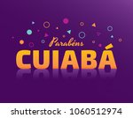logo with text in brazilian... | Shutterstock .eps vector #1060512974