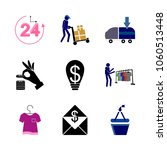icon shopping tools with... | Shutterstock .eps vector #1060513448