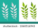 sprout of plant leaf in...   Shutterstock .eps vector #1060516943