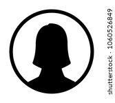 female user profile | Shutterstock .eps vector #1060526849