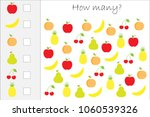 how many counting game with...   Shutterstock .eps vector #1060539326