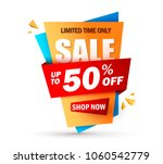 super sale layout design with... | Shutterstock .eps vector #1060542779