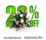 sale poster  banner  ads 20 ... | Shutterstock . vector #1060546790