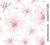 blossom flowers isolated vector ... | Shutterstock .eps vector #1060547180