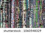 Handmade Rug Made Of Colorful...
