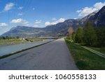 border between switzerland and... | Shutterstock . vector #1060558133