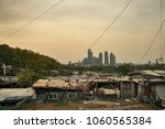 this is the most expensive land ... | Shutterstock . vector #1060565384