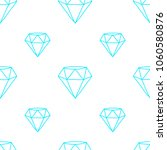 geometric diamonds pattern | Shutterstock .eps vector #1060580876