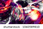 bright color motion composition.... | Shutterstock . vector #1060589810