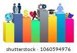 desire purpose  man vector... | Shutterstock .eps vector #1060594976
