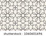 oriental linear geometric...   Shutterstock .eps vector #1060601696