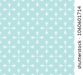 turquoise seamless stylized... | Shutterstock .eps vector #1060601714